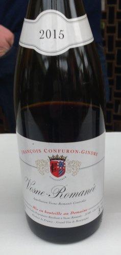 Confuron-Gindre Vosne-Romanee 2015