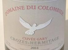 Crozes-Hermitage Cuvée Gaby 2014 Domaine du Colombier
