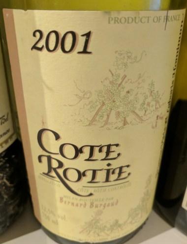 Burgaud Cote-Rotie 2001