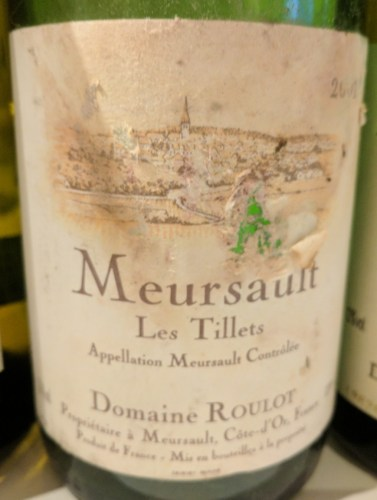 Brilliant Roulot 2001 Meursault