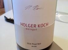 Holger Koch Three Star Pinot Noir 2016