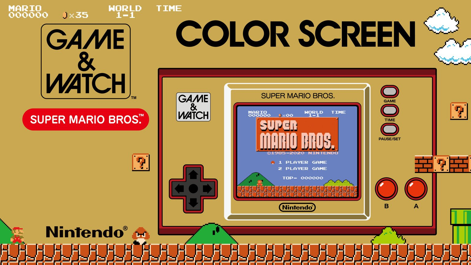 Game & Watch: Super Mario Bros