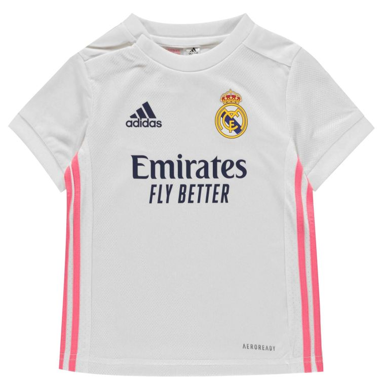 adidas Real Madrid Home Baby Kit 2020 2021 - ELITOO