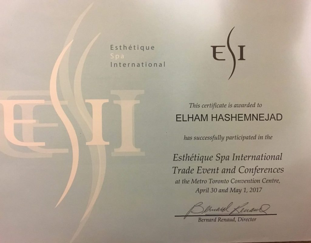 Elix beauty Certificate
