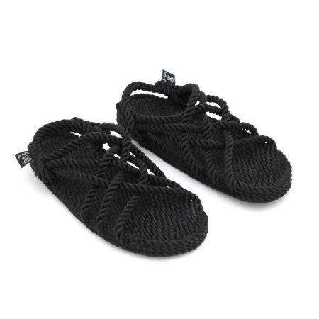 JC Noir sandaler fra Nomadic State of Mind. Nomadic Stae of Mind sandaler er håndlavede, produceret af genanvendelige polypropylen reb hvilket giver dem rigtig god modstandsdygtighed overfor slid.