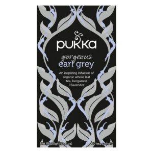 Pukkas økologiske Earl Grey te består af helbladet sort te af den fineste kvalitet. Teen er certificeret med Fair for Life. Køb din økologiske te og andre wellnessprodukter hos Elixira.