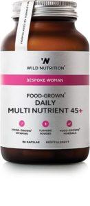 Food grown - Daily multi nutrient 45+ til kvinder er lavet på mad og optages hurtigere end andre vitaminer.