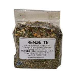 Rense Te er den perfekte urtete til udrensning af kroppen. Køb den her hos Elixira!