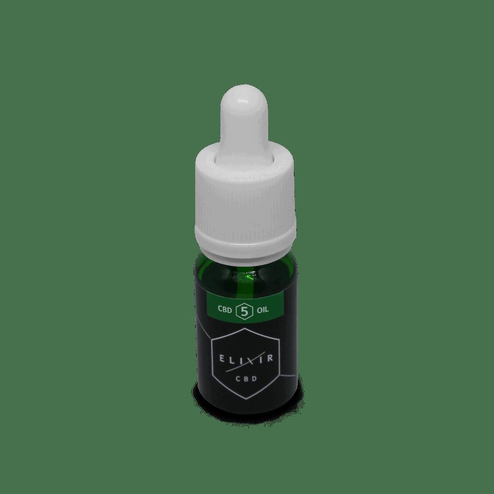 Elixir CBD - 5% CBD Oil UK - 500mg CBD - 10ml