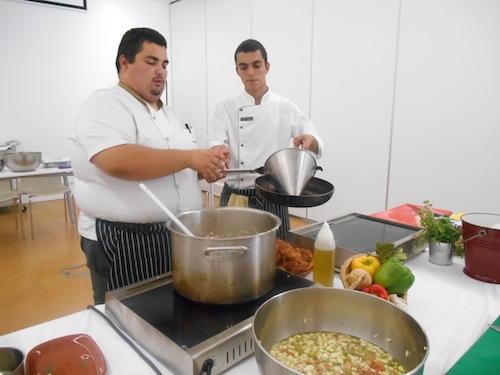Cork hotel cookery lesson 3