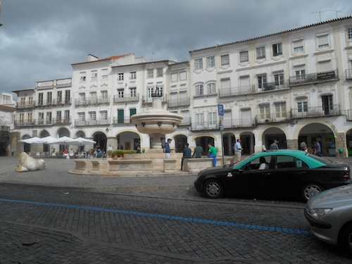 Evora square