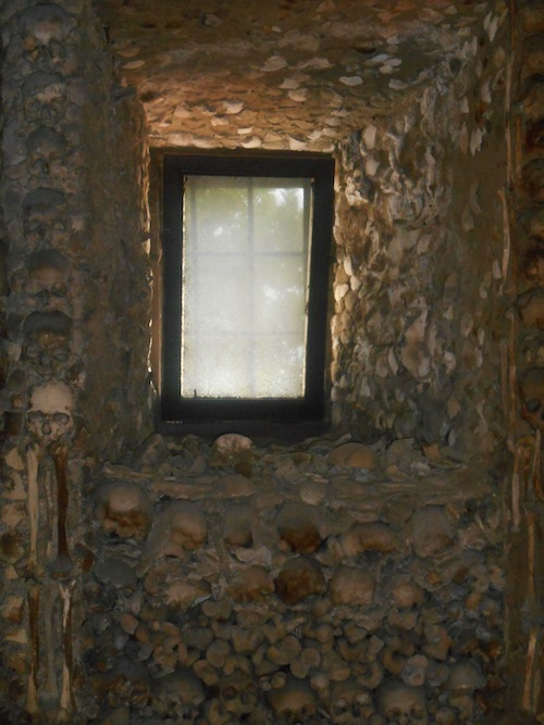 chapel of bones window