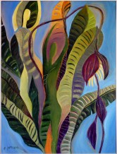 Painting of Banana Palm