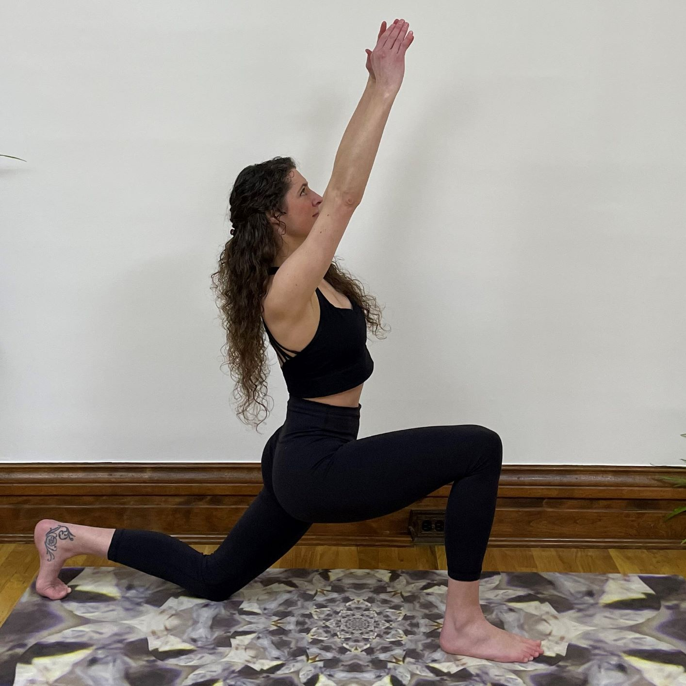 Yoga at Home Practice - Low Lunge