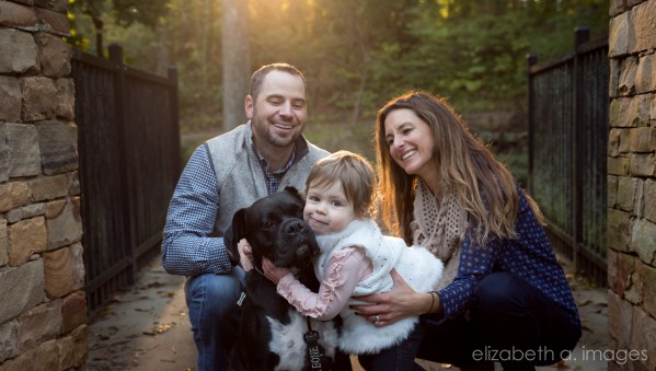 Fall Family Portrait Session in Charlotte NC