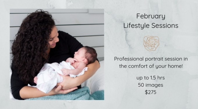 Lifestyle portrait sessions in Matthews, NC