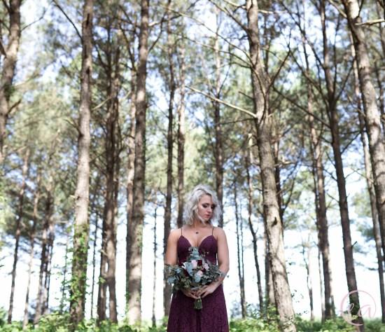 moody styled shoot Crimson Reverie