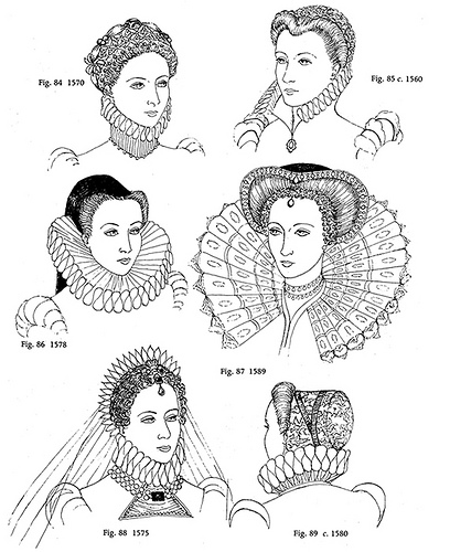 Hairstyles During Elizabethan Time Period