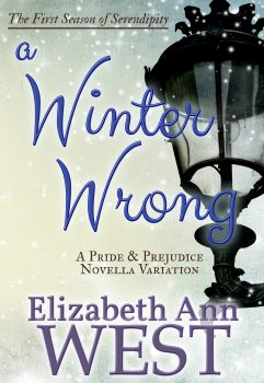cover of A Winter Wrong a Pride and Prejudice variation
