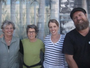 Trish, Nicky, Sarah and Richard