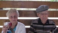 Hazel and dad taken on dad's ninetieth...