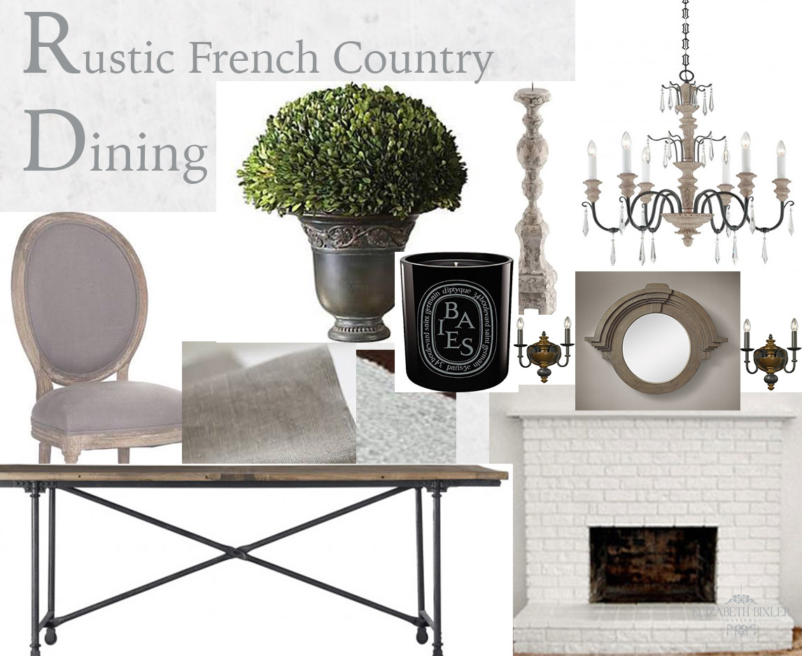 French Country Dining 2