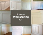 Styles of Wainscoting 101