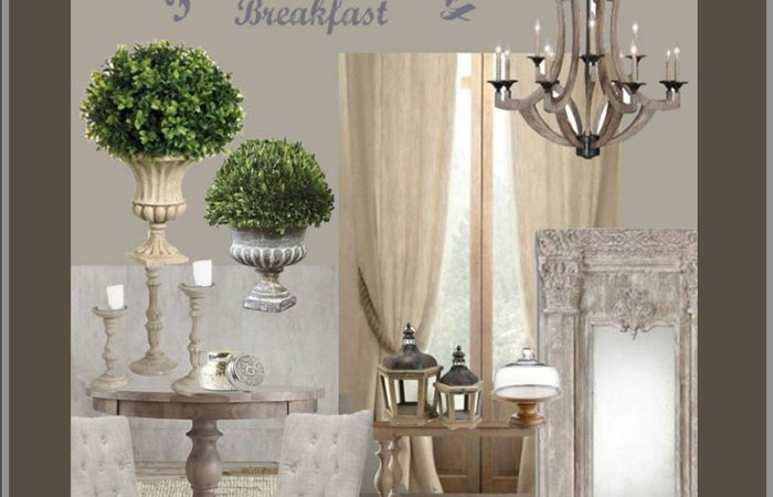French Country Breakfast Room Board