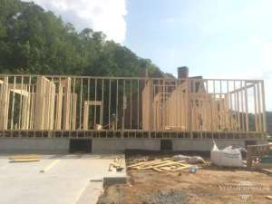 back exterior framing