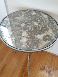 rub n buff, silver leaf, table, antique , precious metal