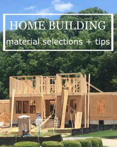 build a house with these tips and material selections