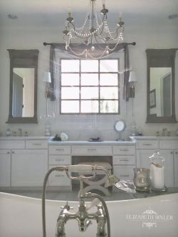 Restoration Hardware Mirror Vanity