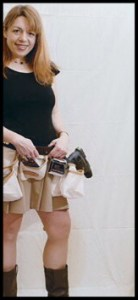 Elizabeth in 2007, in a shoot for Hudson Valley magazine