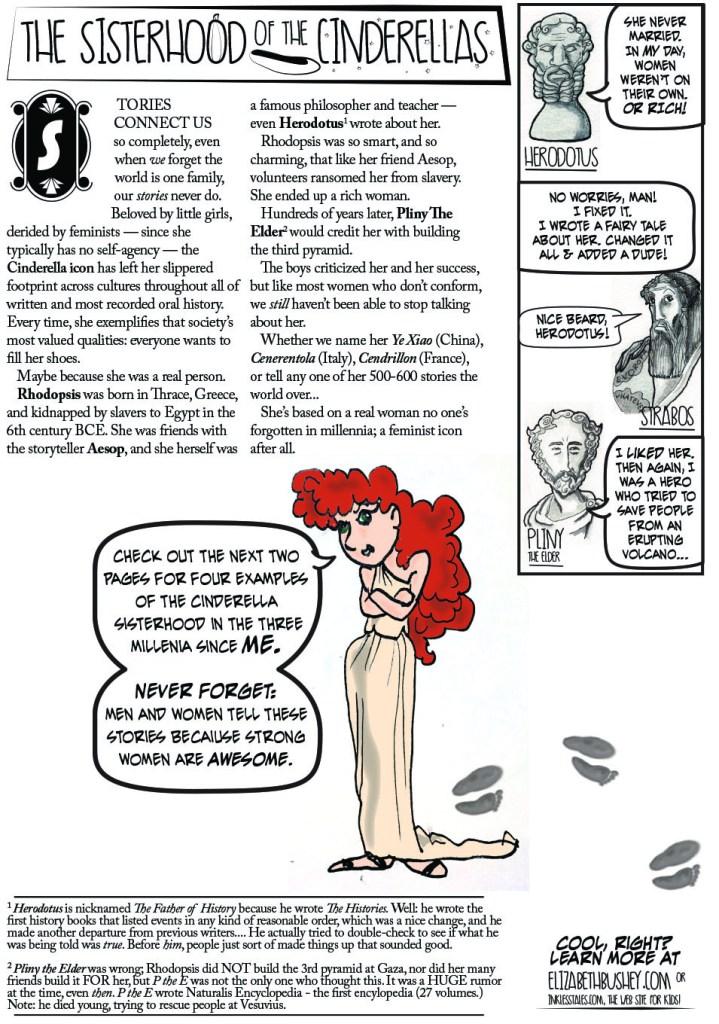 Sisterhood of the Cinderellas p1