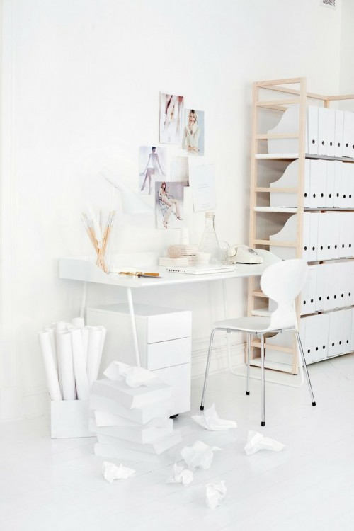office design, interiors, interior design, white,