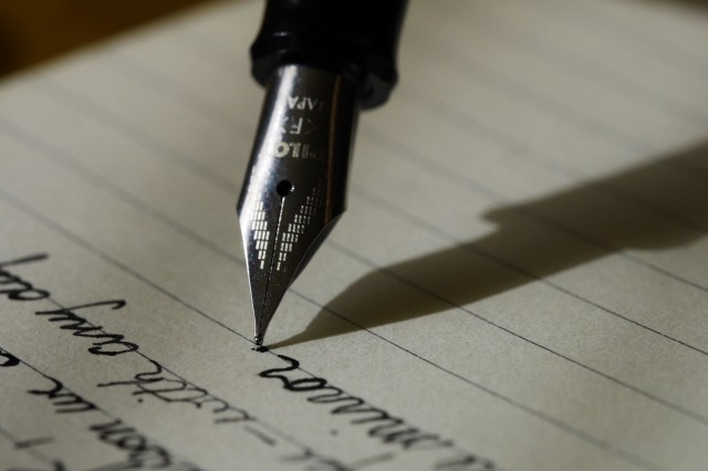 Elizabeth's pen