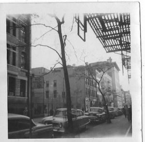 Greenwich Village Street 1960s