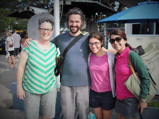 Me, Tom, Tenny and Narineh