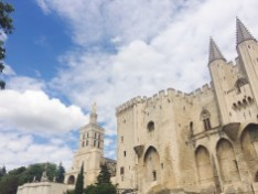 The Papal Palace in Avignon
