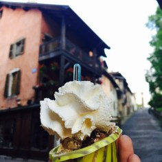 Ice cream in Annecy