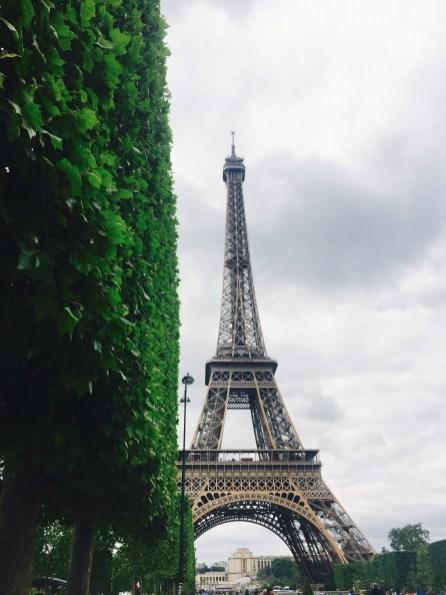 Champ de Mars in Paris!