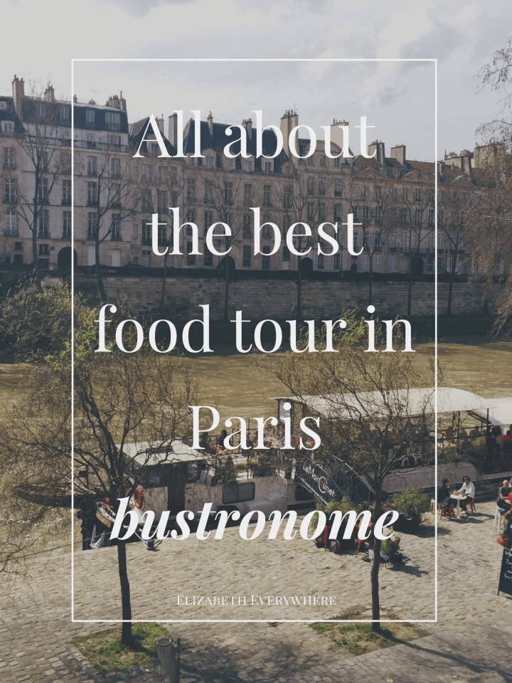 Bustronome Paris- A 6 course Gourmet Bus Ride!