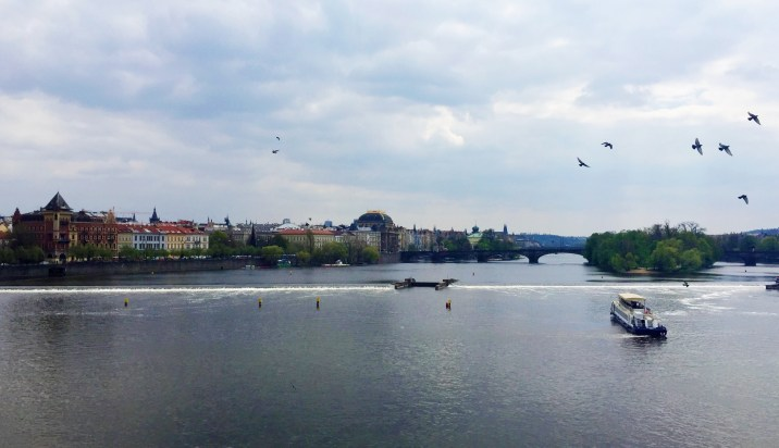 Another view of Prague from the River