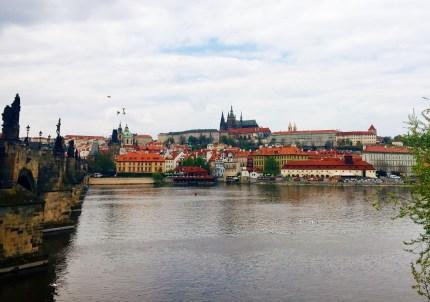 Prague from the Charles Bridge