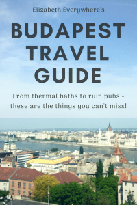 Guide to #Budapest! All you need to do and see in this Central European capital! From thermal baths to ruin pubs, there's something for everyone! #hungary #travel #europe #thermalbaths #ruinbar #ruinpubs