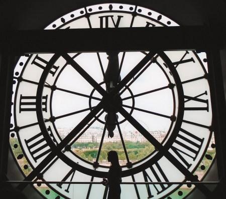winter in paris - d'Orsay