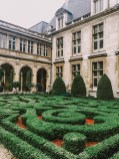 Picasso Museum Garden - Art Museums in Paris