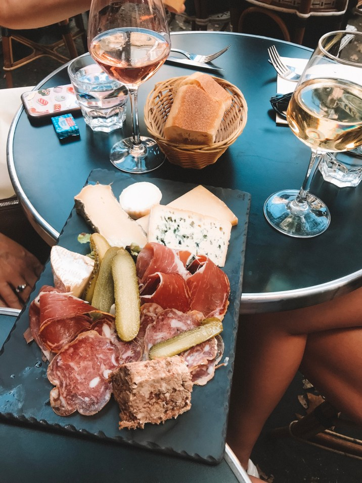 Enjoying some aperitifs in the Latin Quarter 5th Arrondissement