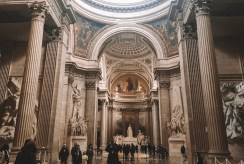 Inside the Pantheon in the Latin Quarter
