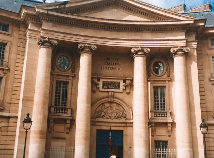 So many beautiful buildings in the 5th Arrondissement